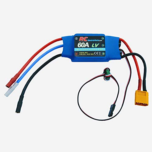 60A RC Brushless Motor Electric Speed Controller ESC 4A UBEC with